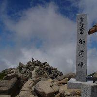 白山登山(平瀬道)