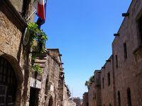 メインのギリシャ〜ドラクエワールドのようなロードス旧市街をぶらり編〜