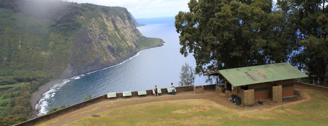 ハワイ島のワイピオ渓谷を徒歩でハイキング