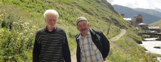 ヨーロッパで1番の標高:ウシュグリ村、...