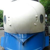 青梅に機関車を見に行く