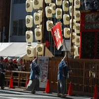 2012年祇園祭〜その1 巡行前日昼の山鉾町&屏風飾り