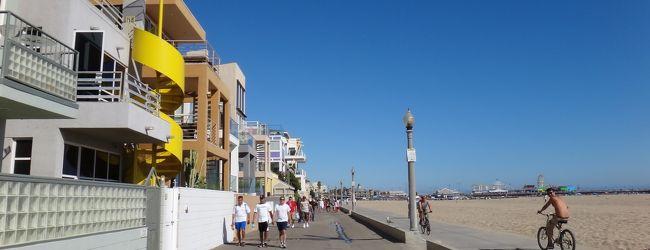 サンタモニカビーチ ピアまでのお散歩
