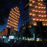 2012夏/東北二大祭り竿燈・ねぶた/クルーズデビュー1才10ヵ月