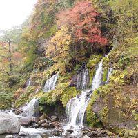 秋の山梨へ一泊旅行♪ �紅葉がキレイな吐竜の滝へ〜