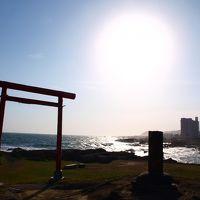 白亜の野島埼灯台へ爽快ドライブ/千葉・白浜