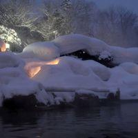 豊平峡温泉 (源泉100%) 大自然の中の温泉
