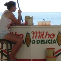 ブラジル フロリアノポリス この海岸すっごく いい!カンボリウー!2
