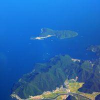 カメラをポケットに羽田空港から四国高松へ空の旅