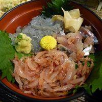沼津港マーケットモール 地魚寿司と魚河岸定食 かもめ丸の昼食