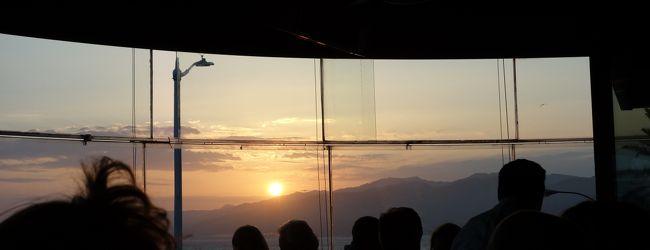 そして眩しい太陽を追いかける sunset San...