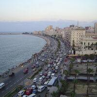 アレキサンドリア: 政情不安で観光客ゼロ近い中での1日半観光