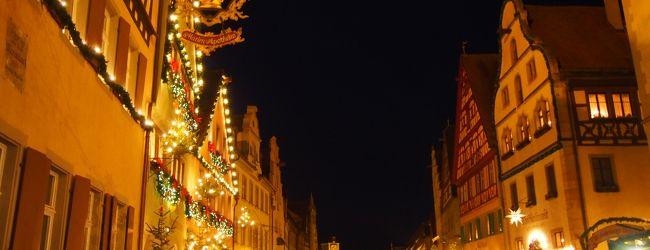 ドイツのクリスマスマーケット〜ローテン...