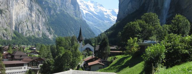 スイス一人旅 グリンデルワルト周辺の絶景編