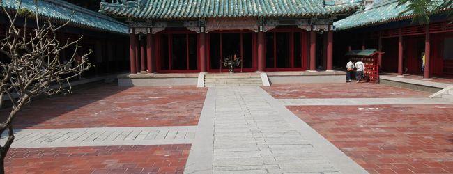 台湾観光(2)台南から台中へ