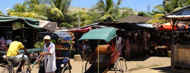 マダガスカル  - トアマシナの町を行く -