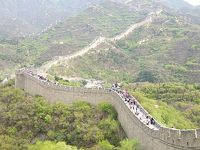 2014GW北京 世界遺産めぐり3泊4日(2日目前半 新緑薫る万里の長城 八達嶺)