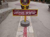 赤道直下の国 エクアドル: 赤道博物館