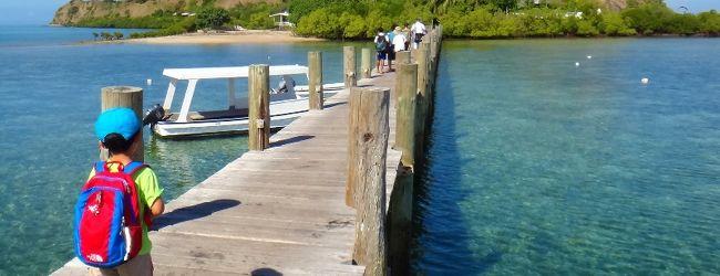 5歳子連れパプアニューギニア(母子旅行)