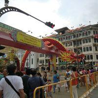 シンガポール 旧正月旅行 その1 街歩き3万歩とMRT乗りつぶし