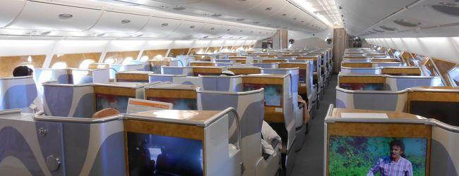 エミレーツ航空 B777 A380 ビジネスク...