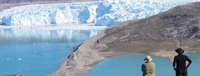 白夜の北極圏の旅NO.7 エキ・キャンプの...