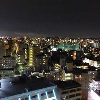 大濠公園 花火大会と福岡市内夜景
