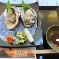 2014 新潟遠征と夏休み第1弾の旅【その2】笹川流れと岩牡蠣