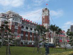 「正月、去年に続いて台湾は3度目の訪問」〜�台北市内を観光します(国立台湾博物館、台湾総統府、中山堂など)