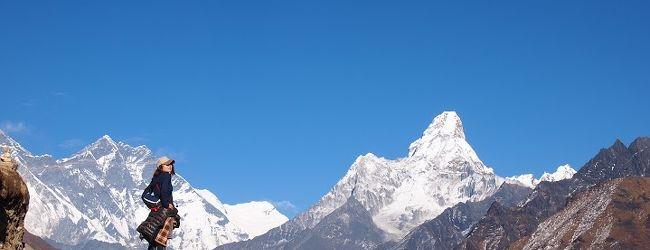 エベレストを望む年越しトレッキング