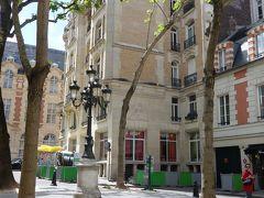 サン・ジェルマンのお散歩。Furstemberg 通りとCour du Commerce Saint-André。秘密の路地。