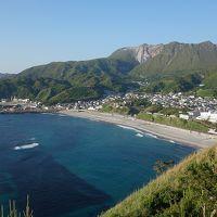 神津島 島内観光(天上山トレッキング後)