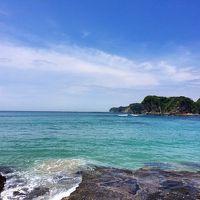 梅雨が来る前に! 青い海を求め房総へ04 ほんとに青かった守谷海岸の海