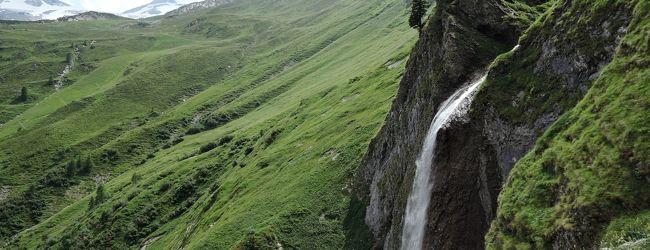 氷河と滝と湖と チロル ツィラータール紀...