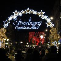 スイス・フランスのクリスマス11(ストラスブールの夜)