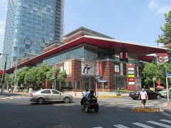 上海の四川北路・中信広場