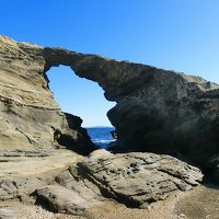 三崎のまぐろを食べに行こいう:城ヶ島の馬の背洞門・ウミウ展望台