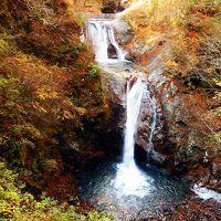 西沢渓谷の紅葉ハイキング2