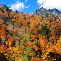 西沢渓谷の紅葉ハイキング3