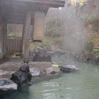 乳頭温泉で、お湯を楽しむ