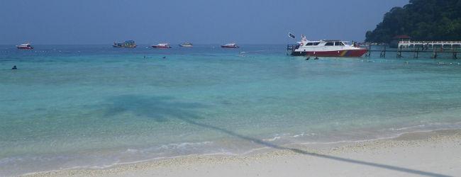 ランテンガ島は綺麗な海でした
