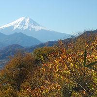 日本三奇橋「猿橋」 大月市秀麗富嶽十二景「岩殿山」