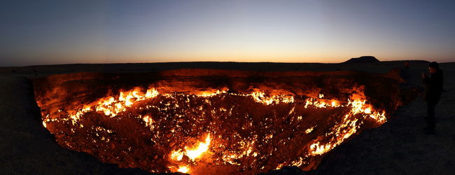 ウズベキスタン&トルクメニスタン:地獄...
