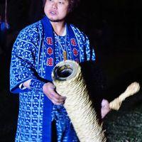 三河-2 【三河伝統手筒花火】 A 開幕 ☆中郷神社の氏子が集まり