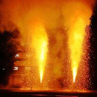 三河-3 【三河伝統手筒花火】 B 迫力!二本立 ☆クラブツーリズムの企画開催で