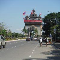 19年振りのチェンマイ&陸路国境越えビエンチャン 6日間の旅 4日目ビエンチャンの街をチャリでぶらぶら
