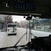 雪の博多  100年に一度の寒波