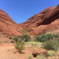 家族3人でオーストラリア旅行2週間 6日目(Kata-Tjuta)