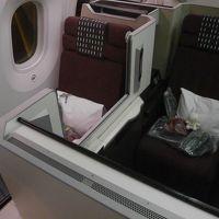 ベトナムの幻想的な風景を見に行きたくて、1泊3日の旅に出た! その3(最終巻) ハノイで〆のグルメ堪能と夜のホアンキエム湖を散策! & フルフラットにしないで爆睡(^_^;)?SS8機材JALのスカイスイートビジネスクラスに乗って帰国の途へ搭乗