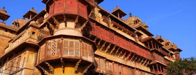 インド北東部と中部の旅12●宮殿群に囲まれ...